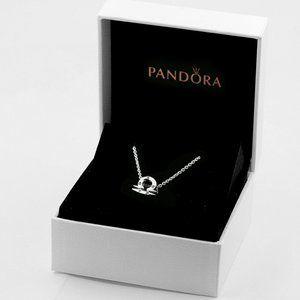 🎆NWT Pandora Sparkling Libra Zodiac Necklace
